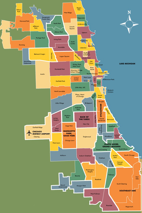 Location Map » I Am Chicago